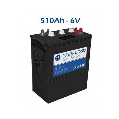 Batería Solar SCL Power DC 510ah 6v