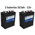 Batería 315ah 12v Ciclo Profundo Power