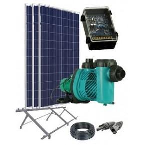 Kit depuradora solar piscina de hasta 95m3