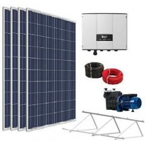 Kit solar depuradora piscina con bomba 1cv