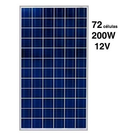 Panel Solar 200W 12V SCL-200P4