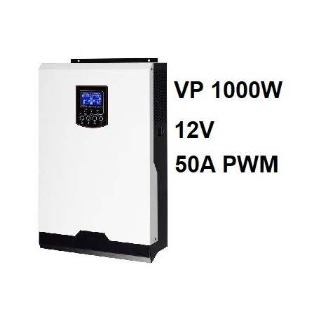 Inversor Cargador Axpert VP 12V 1000W PWM 50A