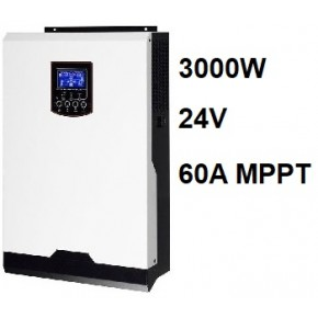 Inversor Cargador Axpert VP 24V 3000W MPPT 60A