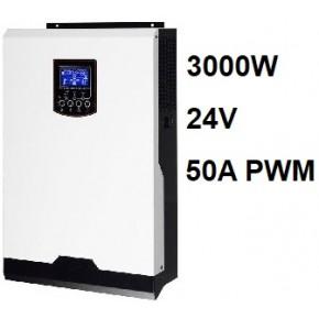 Inversor Cargador Axpert VP 24V 3000W PWM 50A