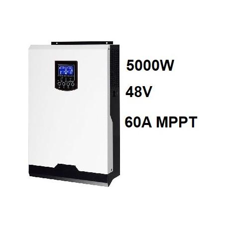 Inversor Cargador Axpert VM 48V 5000W MPPT 60A