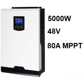 Inversor Cargador Axpert VM 48V 5000W MPPT 80A