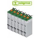 Batería Sigma 6 SOPzS 965 Translúcida 969Ah