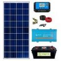 Kit Solar 12V 800Whdia con Batería