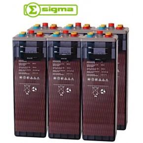 Batería Sigma 6 OpZS 800 1256Ah (C100)