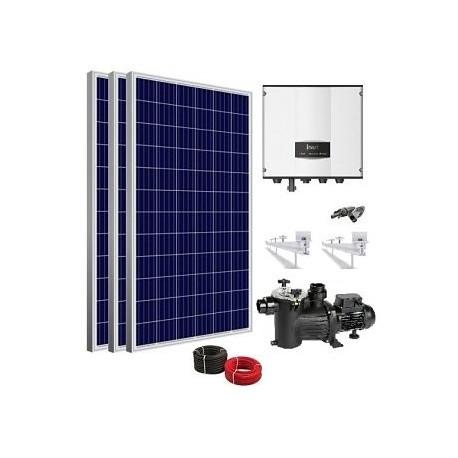 Kit Solar depuradora piscina con bomba 0.5cv