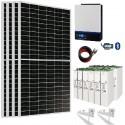 Kit Solar 3000W 24V 9000wh/día Batería 503Ah