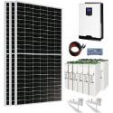 Kit Solar 3000W 24V 6750whdia Batería 503Ah