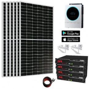Kit Solar 5.600W 13.000whdía Litio 9,6Kw